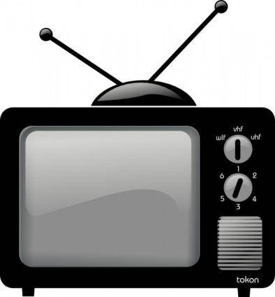 Old Television clip art