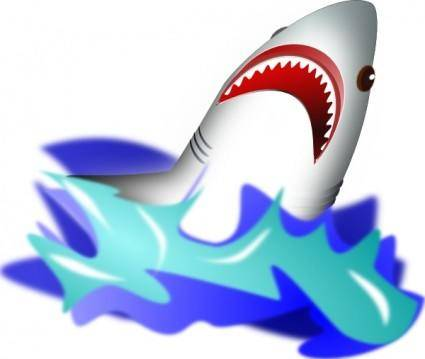 free vector Shark  clip art