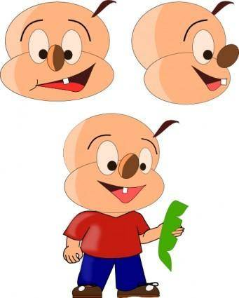 Cartoon Person clip art