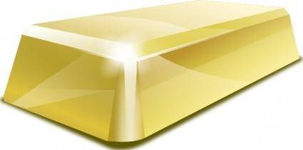 Gold Block clip art