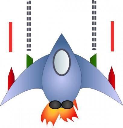 Space Ship clip art