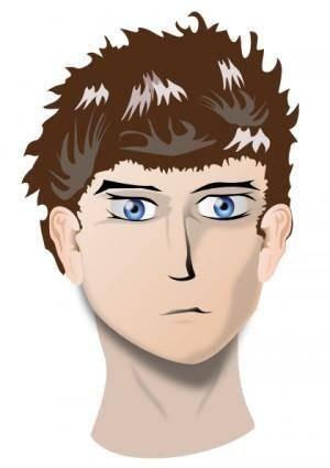 Human Face Head clip art