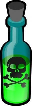 free vector Poison Bottle clip art