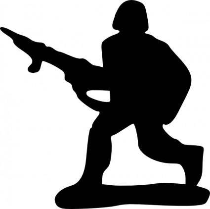 Toy Soldier clip art