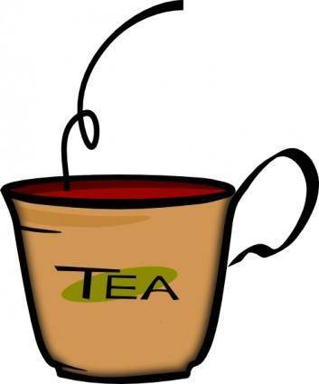 free vector Printerkiller Cup Of Tea clip art
