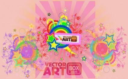 free vector Holiday Card