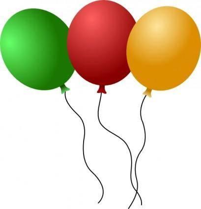 Balloons clip art