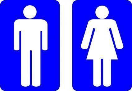 free vector Wariat Toilet Signs clip art