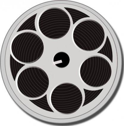 free vector Tape File Reel clip art