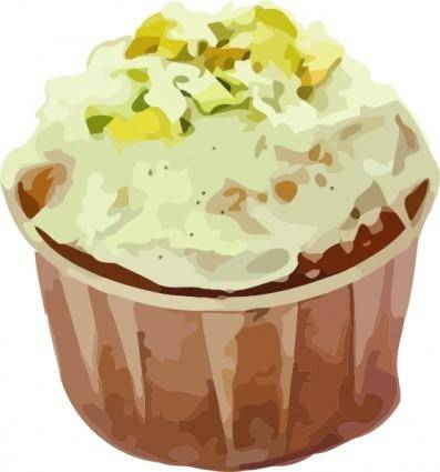 free vector Small Cup Cake clip art