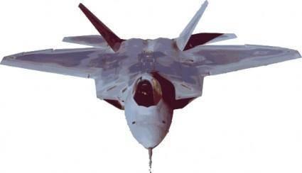 free vector Fighter Jet Plane clip art