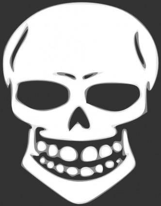 Skull Human X Ray clip art