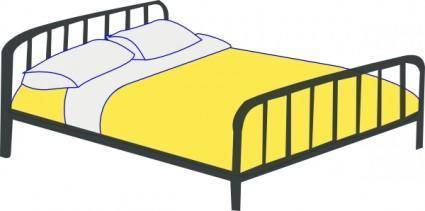 free vector Rfc Double Bed clip art