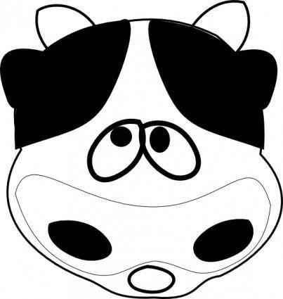 free vector Smile Cow clip art