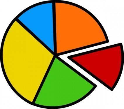 Pie Chart clip art