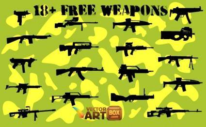18+ Free Weapons