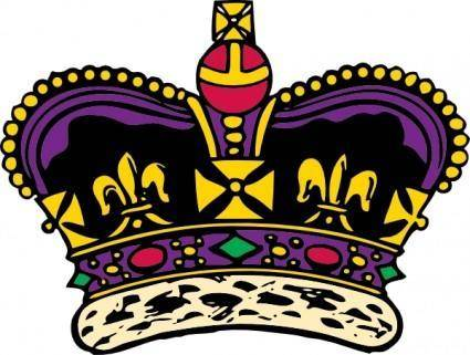 Clothing King Crown clip art