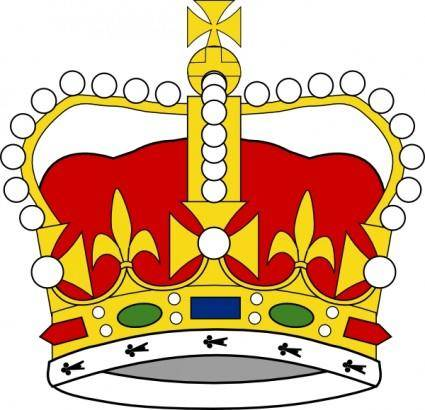 Crown Of Saint Edward clip art