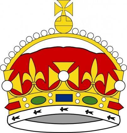Crown Of George Prince Of Wales clip art