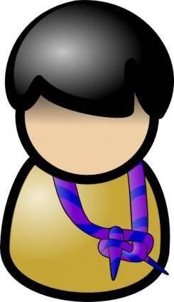 Martouf Boy Scout clip art