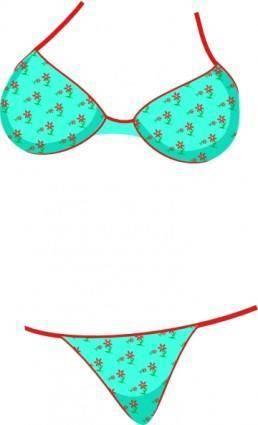 free vector Bikini clip art