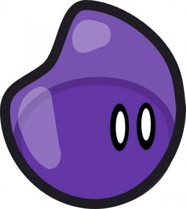 Crankeye Purple Jelly clip art