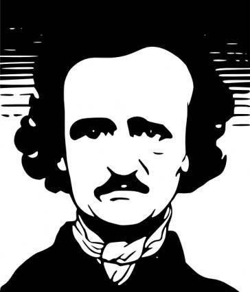 Edgar Allen Poe clip art