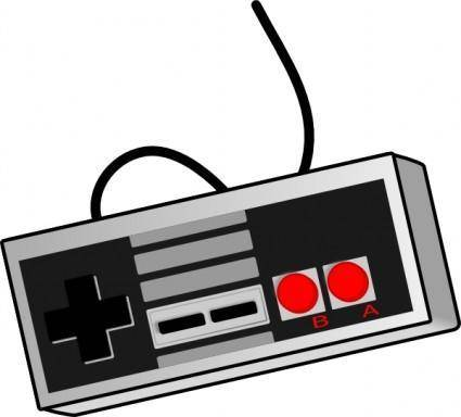 free vector Bhspitmonkey Old School Game Controller clip art