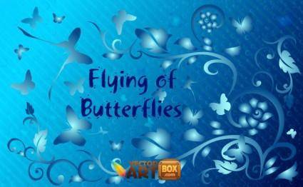 free vector Vector Butterfly Clipart