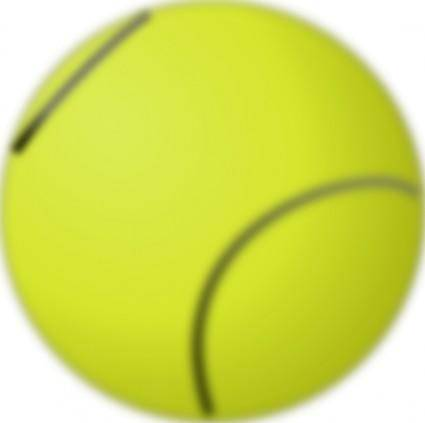 Gioppino Tennis Ball clip art