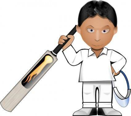 free vector Kobo Cricket Toon clip art