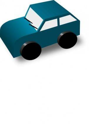 free vector Dtrave Cartoon Car clip art