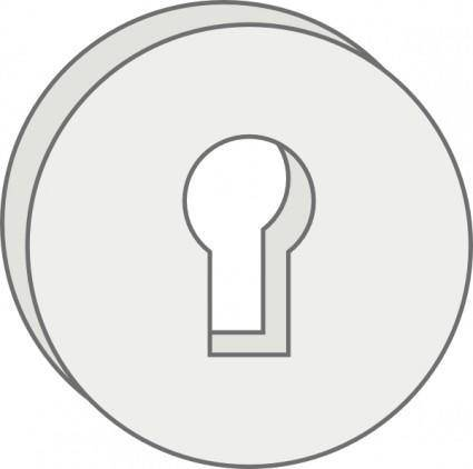 Key Lock Hole clip art