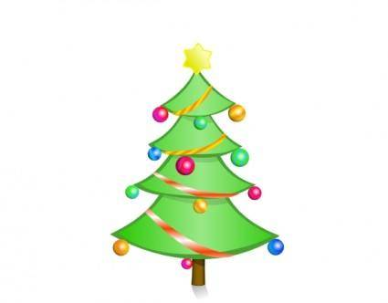Christmas Tree clip art 106021