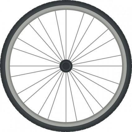 Bikewheel clip art