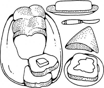 Bread And Butter clip art