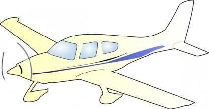 free vector Cessna Plane clip art