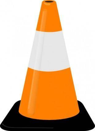 Traffic Cone clip art
