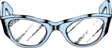 free vector Eye Glasses clip art