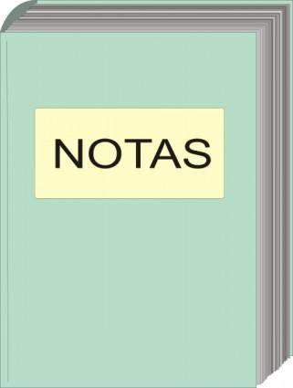 free vector Note Book clip art