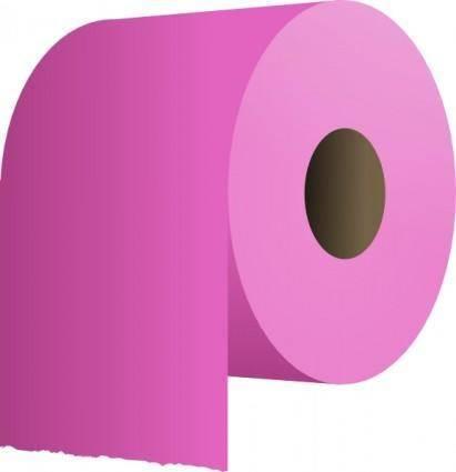 Toilet Paper Roll clip art