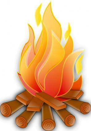 free vector Fire clip art