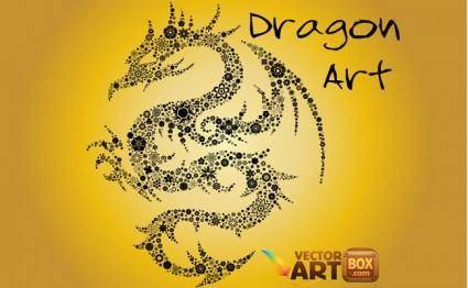 free vector Free Dragon Art