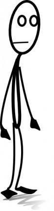 free vector Al Standing clip art