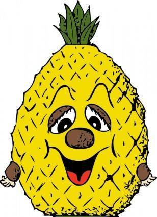 Pineapple Head clip art