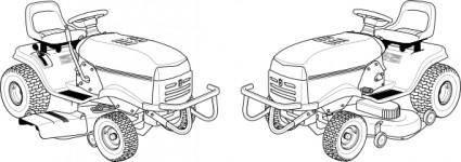 Lawn Mower clip art