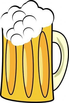 free vector Beer Cup Mug clip art