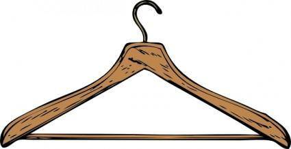free vector Coat Hanger clip art