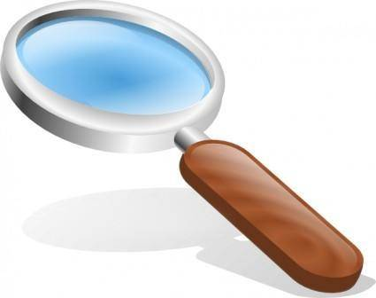 Thestructorr Magnifying Glass clip art