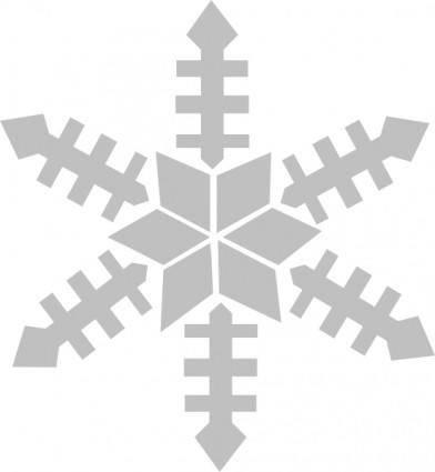Snowfalke clip art